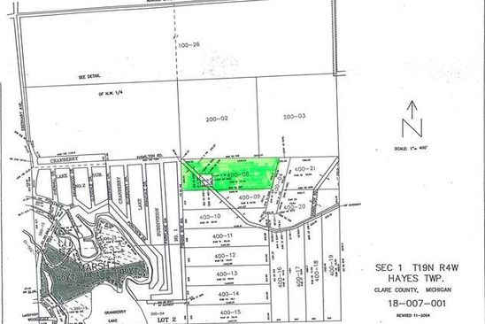 null bed null bath Vacant Land at  Nhn Hamilton Harrison, MI, 48625 is for sale at 48k - google static map