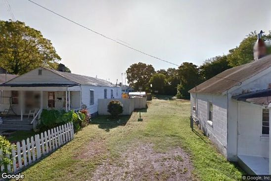 null bed null bath Vacant Land at 617 South St Hampton, VA, 23669 is for sale at 8k - google static map