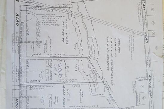 null bed null bath Vacant Land at 002 Adkins Rd Charles City Co., VA, 23030 is for sale at 65k - google static map
