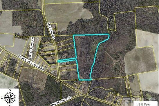 null bed null bath Vacant Land at 125 McPhail Rd Roseboro, NC, 28382 is for sale at 89k - google static map