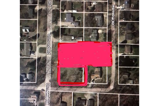null bed null bath Vacant Land at  Ormond Rd White Lake, MI, 48386 is for sale at 45k - google static map