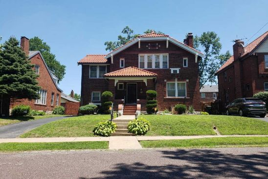 3 bed 3 bath Single Family at 7443 AUGUSTA AVE SAINT LOUIS, MO, 63121 is for sale at 165k - google static map