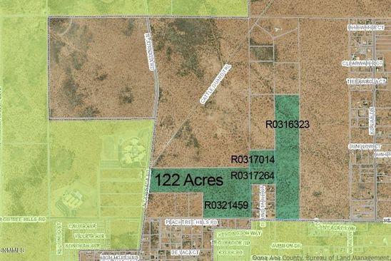 null bed null bath Vacant Land at 000 Peachtree Hills Rd Las Cruces, NM, 88012 is for sale at 1.90m - google static map