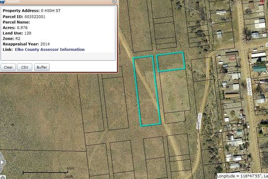 null bed null bath Vacant Land at LOTS11-24 High St Midas, NV, 89414 is for sale at 9k - google static map