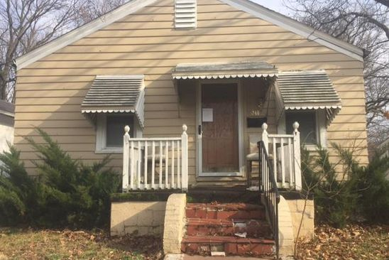 2 bed 1 bath Single Family at 5240 HODIAMONT AVE SAINT LOUIS, MO, 63136 is for sale at 25k - google static map