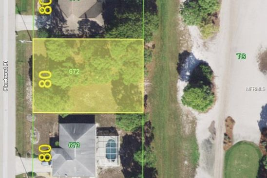 null bed null bath Vacant Land at 54 Pinehurst Pl Rotonda West, FL, 33947 is for sale at 30k - google static map