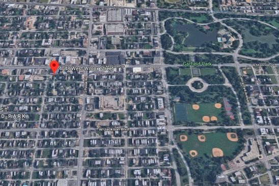0 bed null bath Vacant Land at 4048 W Wilcox St Chicago, IL, 60624 is for sale at 7k - google static map