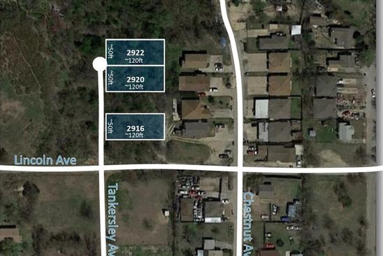 null bed null bath Vacant Land at 2920 Tankersley Ave Fort Worth, TX, 76106 is for sale at 15k - google static map