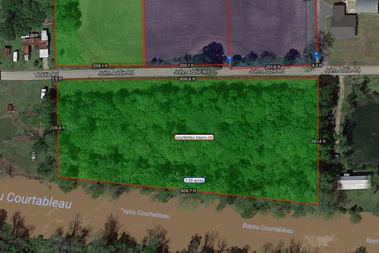 null bed null bath Vacant Land at 703-955 John Addie Road None Port Barre, LA, 70577 is for sale at 50k - google static map
