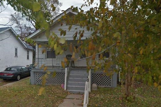 2 bed 1 bath Single Family at 614 LOCUST ST CAPE GIRARDEAU, MO, 63703 is for sale at 36k - google static map
