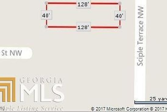 null bed null bath Vacant Land at 282 Sciple Ter NW Atlanta, GA, 30314 is for sale at 65k - google static map