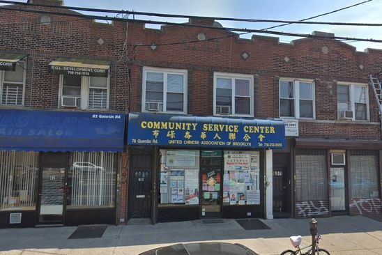 3 bed 3 bath Single Family at 78 Quentin Rd Brooklyn, NY, 11223 is for sale at 1.09m - google static map