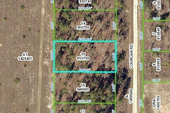 null bed null bath Vacant Land at 0 Courlan R Rd Weeki Wachee, FL, 34614 is for sale at 11k - google static map