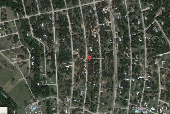 null bed null bath Vacant Land at 5805 Arkansas Trl Granbury, TX, 76048 is for sale at 10k - google static map