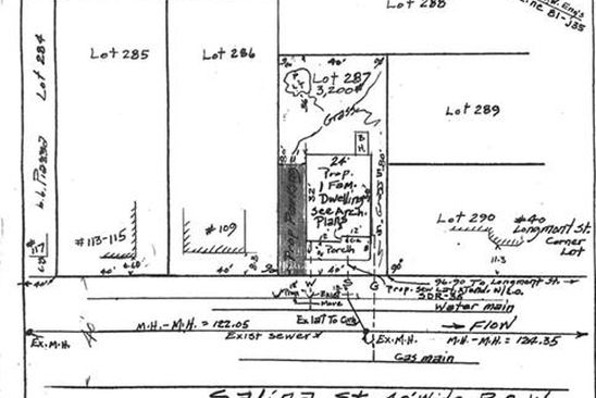 null bed null bath Vacant Land at 105 SALINA ST PROVIDENCE, RI, 02908 is for sale at 50k - google static map