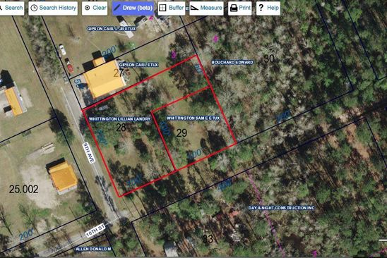 0 bed null bath Vacant Land at 16024 10th St Pearlington, MS, 39572 is for sale at 12k - google static map