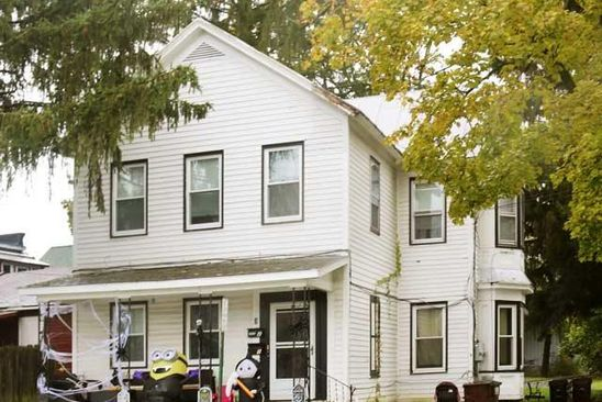 6 bed 2 bath Multi Family at 3 CENTRAL AVE RAVENA, NY, 12143 is for sale at 139k - google static map