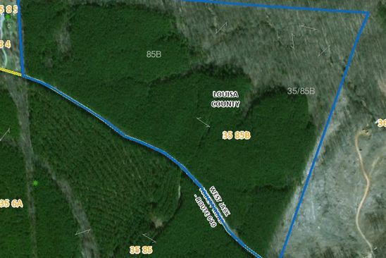 null bed null bath Vacant Land at W Jack Jouett Rd Louisa, VA, 22942 is for sale at 453k - google static map