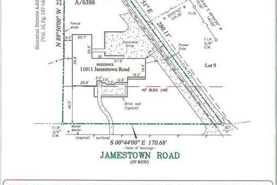 null bed null bath Vacant Land at 11011 Jamestown Rd Dallas, TX, 75230 is for sale at 695k - google static map