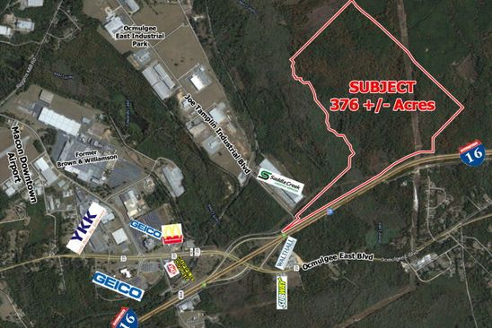 0 bed null bath Vacant Land at 400 Joe Tamplin Industrial Blvd Macon, GA, 31217 is for sale at 1.50m - google static map