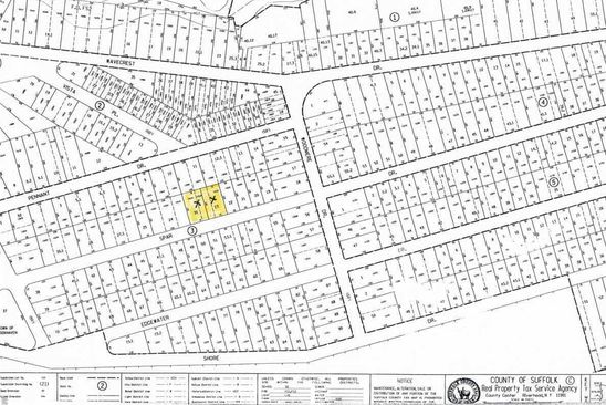 null bed null bath Vacant Land at 23 Spar Dr Mastic Beach, NY, 11951 is for sale at 45k - google static map