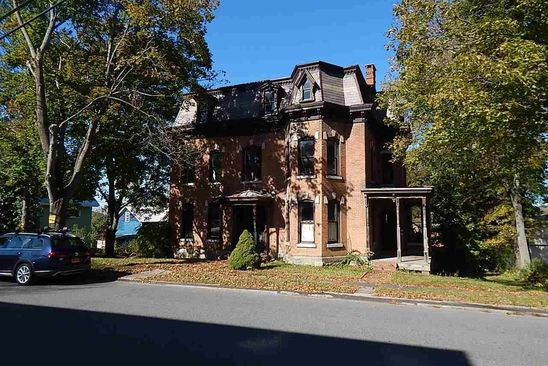4 bed 1 bath Single Family at 128 Cliff St Canajoharie, NY, 13317 is for sale at 40k - google static map