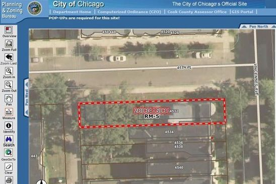 3 bed null bath Vacant Land at 4532 S Vincennes Ave Chicago, IL, 60653 is for sale at 35k - google static map