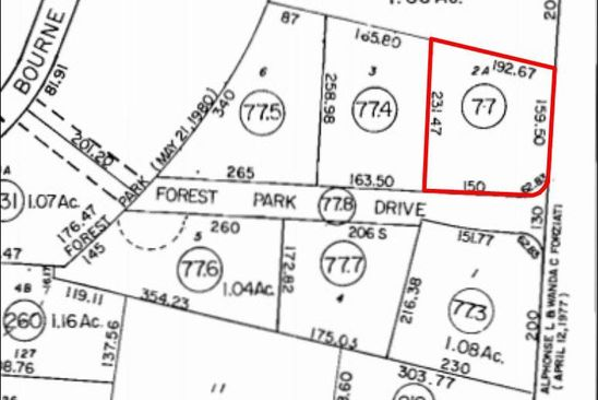 null bed null bath Vacant Land at 568 Macarthur Blvd Pocasset, MA, 02559 is for sale at 550k - google static map