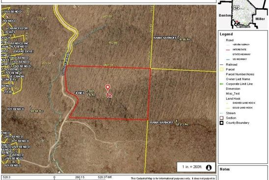 null bed null bath Vacant Land at  Coyote Trl Stover, MO, 65078 is for sale at 15k - google static map