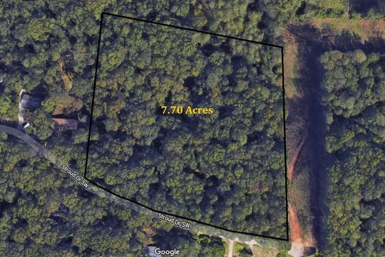 null bed null bath Vacant Land at 331 Stroud Dr SE Mableton, GA, 30126 is for sale at 225k - google static map