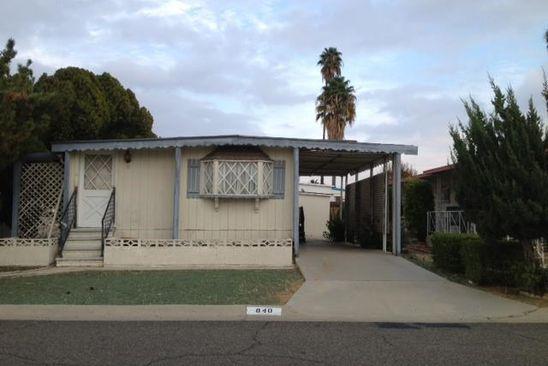 2 bed 1 bath Mobile / Manufactured at 840 Santa Clara Cir Hemet, CA, 92543 is for sale at 50k - google static map