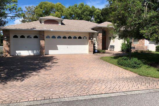 3 bed 2 bath Single Family at 3007 MISTY MEADOW CT SPRING HILL, FL, 34606 is for sale at 312k - google static map