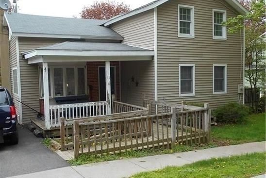 3 bed 1 bath Single Family at 74 E DEZENG ST CLYDE, NY, 14433 is for sale at 47k - google static map