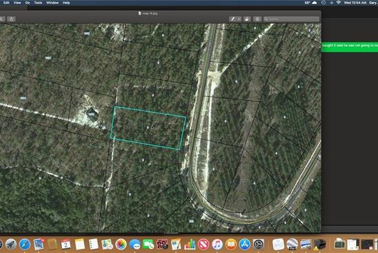 null bed null bath Vacant Land at 34 Heritage Cir Hortense, GA, 31543 is for sale at 10k - google static map