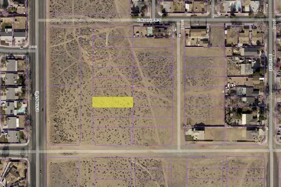 null bed null bath Vacant Land at 25TH Pl East Nr Ave Palmdale, CA, 93550 is for sale at 23k - google static map