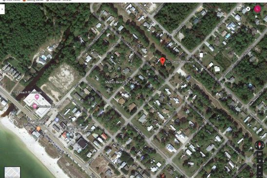 null bed null bath Vacant Land at 702 Georgia Ave Mexico Beach, FL, 32456 is for sale at 99k - google static map