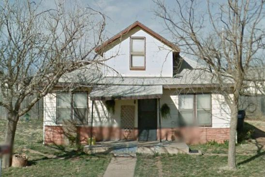 3 bed 1 bath Single Family at 1508 Avenue G Anson, TX, 79501 is for sale at 29k - google static map