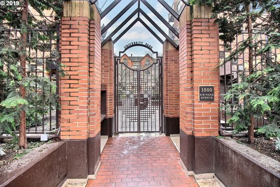 1 bed 1 bath Condo at 1500 SW Park Ave Portland, OR, 97201 is for sale at 295k - google static map