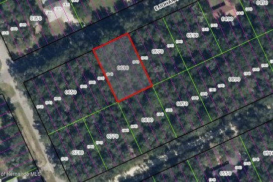 null bed null bath Vacant Land at 3444 E JONAH PL INVERNESS, FL, 34453 is for sale at 5k - google static map