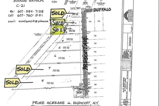 null bed null bath Vacant Land at 1003 Prescott Ave Endicott, NY, 13760 is for sale at 37k - google static map
