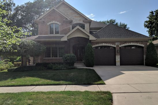 5 bed 5 bath Single Family at 128 S CHESTNUT AVE ARLINGTON HEIGHTS, IL, 60005 is for sale at 950k - google static map