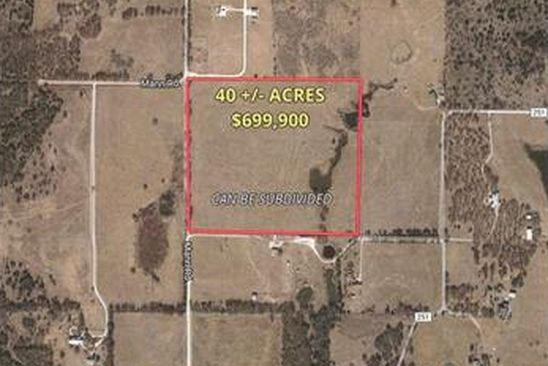 null bed null bath Vacant Land at 40 Ac Mann Rd Valley View, TX, 76272 is for sale at 700k - google static map