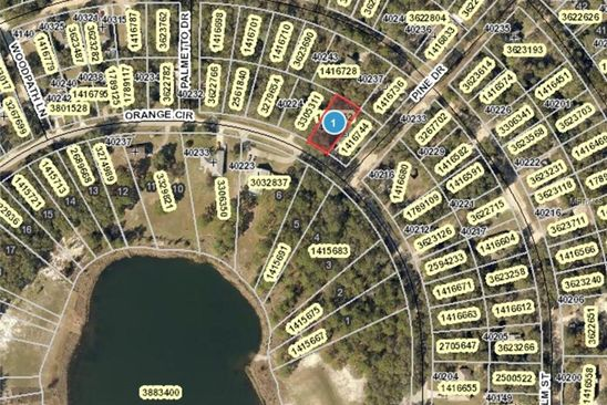 null bed null bath Vacant Land at  Orange Cir Lady lake, FL, 32159 is for sale at 10k - google static map