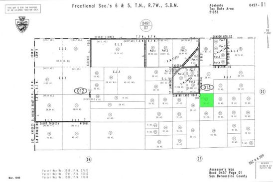 null bed null bath Vacant Land at  Chamisal St El mirage, CA, 92301 is for sale at 12k - google static map
