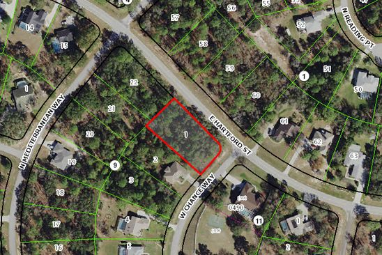 null bed null bath Vacant Land at 1358 N CHANCE WAY INVERNESS, FL, 34453 is for sale at 10k - google static map