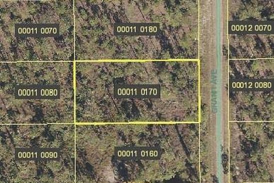 null bed null bath Vacant Land at 1211 Grant Blvd Lehigh Acres, FL, 33974 is for sale at 8k - google static map