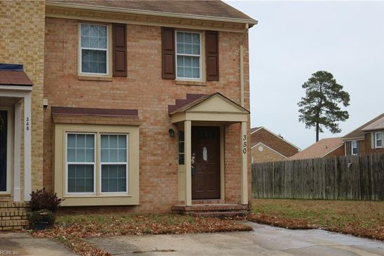 2 bed 3 bath Townhouse at 350 Paxford Dr Virginia Beach, VA, 23462 is for sale at 180k - google static map