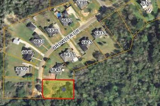 null bed null bath Vacant Land at 0 Browder Dr Theodore, AL, 36582 is for sale at 12k - google static map