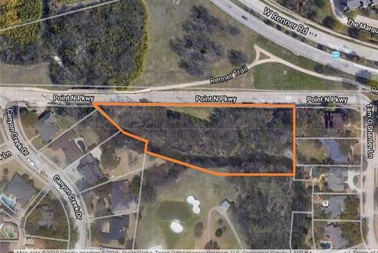 null bed null bath Vacant Land at 1025 Point North Pkwy Richardson, TX, 75080 is for sale at 750k - google static map
