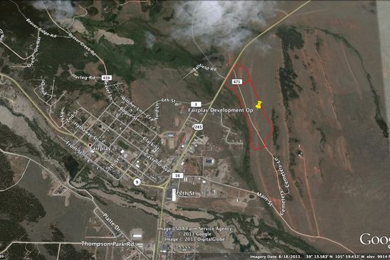 null bed null bath Vacant Land at  Tbd Cnty Rd Fairplay, CO, 80440 is for sale at 1.10m - google static map